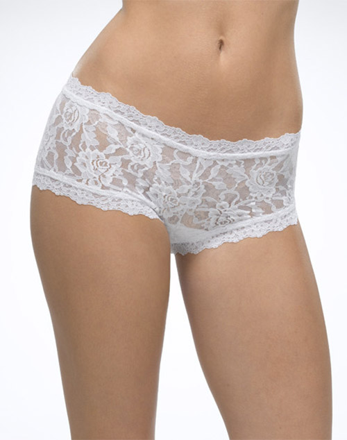 e7ac17449 ... Hanky Panky Signature Lace Boyshort in White ...