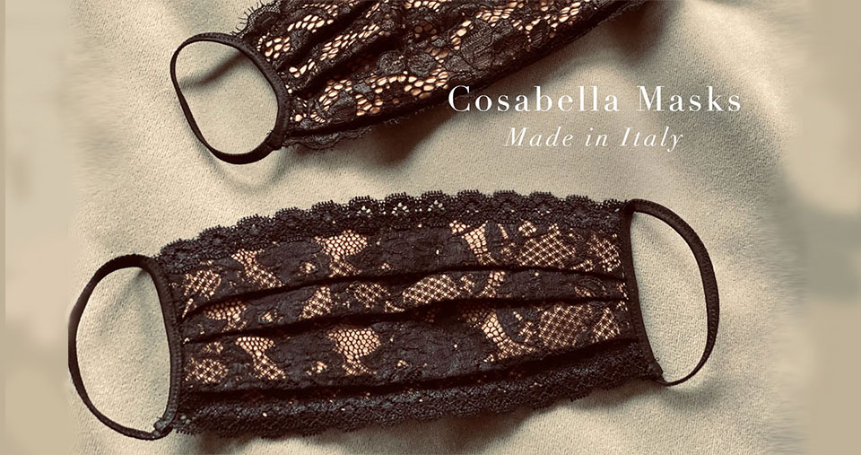 Cosabella Fight Covid-19 Face Masks, Accessories by Cosabella