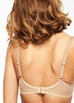 Chantelle C Chic Sexy Plunge Underwire Bra in Perfect Nude, Back View