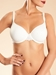 Champs Elysees Smooth Convertible Underwire Bra in Ivory