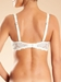 Champs Elysees Smooth Convertible Underwire Bra in Ivory, Back View
