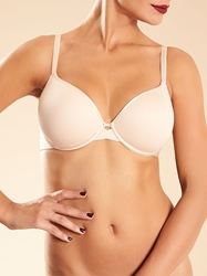 Chantelle Modern Invisible Smooth Underwire Bra in Nude Blush