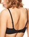 Chantelle Orangerie Full Coverage Unlined Bra in Black, Back View