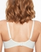 Chantelle Orangerie Full Coverage Unlined Bra in Ivory, Back View