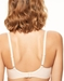 Chantelle Orangerie Full Coverage Unlined Bra in Skin Rose, Back View