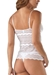 Cosabella Ceylon Long Camisole in White with Matching Panty