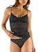 Cosabella Ceylon Long Camisole in Black with Matching Panty