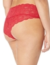 Never Say Never Extended Hottie Lowrider Hotpant in Mystic Red, Back View