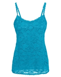 Cosabella Never Say Never Sassie Long Camisole in Picasso Blue