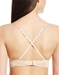 Never Say Never Say Never/Soire Soft Bra in Blush, Back View Criss Crossed
