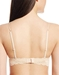 Never Say Never Say Never/Soire Soft Bra in Blush, Back View Tradtional