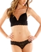 Never Say Never Say Never/Soire Soft Bra and Panty in Black
