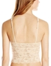 Cosabella Never Say Never 'Shorty Cropped' Cami in Blush, Back View