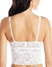 Cosabella Never Say Never 'Shorty Cropped' Cami in White, Back View
