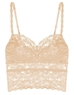 Cosabella Never Say Never 'Shorty Cropped' Cami in Blush