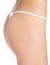 Cosabella Soire Lowrider Italian Thong in White, Back View