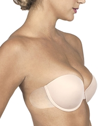 Go Bare Backless Strapless Bra in Nude