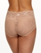 Hanky Panky American Beauty Rose Panty in Praline Brown, Back View