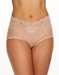 Hanky Panky American Beauty Rose Panty in Praline Brown