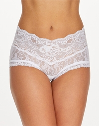 Hanky Panky American Beauty Rose Panty in White