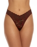 Hanky Panky Cross-Dyed Original Rise Thong in Black/Red