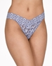 Hanky Panky Cross-Dyed Original Rise Thong in Chambray/Ivory