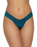 Hanky Panky Signature Low Rise Lace Thong in Enchanted Forest