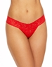 Hanky Panky Signature Low Rise Lace Thong in Fiery Red