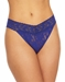 Hanky Panky Signature Lace Thong in Midnight Blue