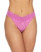 Hanky Panky Signature Lace Thong in Raspberry Ice