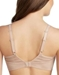 Le Mystere Active Balance Sport Bra in Natural, Back View