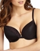 Le Mystere Safari Plunge T-Shirt Bra in Black