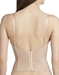 Le Mystere Soiree Longline Convertible Bustier in Natural, Back View