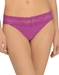 Natori Bliss Perfection Lace-Trim V-kini in Bright Plum