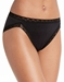 Natori Bliss French Cut Cotton Panty in Black