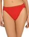 Natori Bliss French Cut Cotton Panty in Lacquered Red