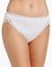 Natori Bliss French Cut Cotton Panty in White