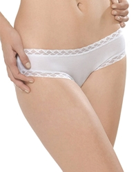 Natori Bliss Girl Brief Panty in White