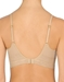Natori Bliss Perfection Wire-Free Bra in Cafe, Back View