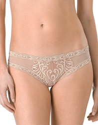 Natori Feathers Basics Hipster Panty in Cafe
