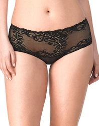 Natori Feathers Girl Brief Panty in Black