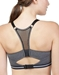 OnGossamer Active Uplift Wireless Sport Bra in Charcoal Heather, Back View