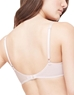 Gossamer Mesh Bump-It-Up Bra in Champagne, Back View