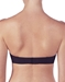 OnGossamer Next to Nothing Plunge Strapless Bra in Black, Back View