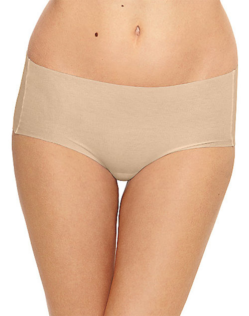 Wacoal Beyond Naked Cotton Blend Hipster Panty, 3 for $45, S-XL, Style # 870259 wacoal beyond naked hipster panty, comfortable panty, smooth panties