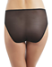 Embrace Lace™ Hi-Cut Brief in Black/Ivory, Back View