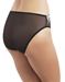 Embrace Lace™ Hi-Cut Brief in Black/Ivory, Side View