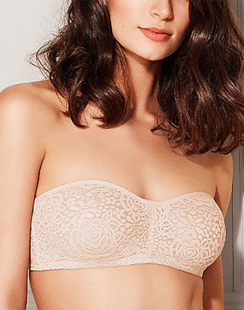 Wacoal Halo Lace Strapless Bra, Style # 854205