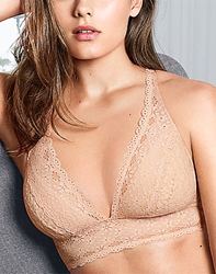 Wacoal Halo Lace Wire Free Convertible Bra Style # 811205 wacoal halo lace soft cup bra, 811205, soft cup bras, wire free bras, bralettes, lace bras