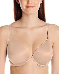 Wacoal Amazing Assets T-Shirt Bra, Style # 853220 wacoal amazing assets seamless bra, back smoothing, t-shirt bra, plunging neck line, plunge bra, bras that help with back fat, flattering bras